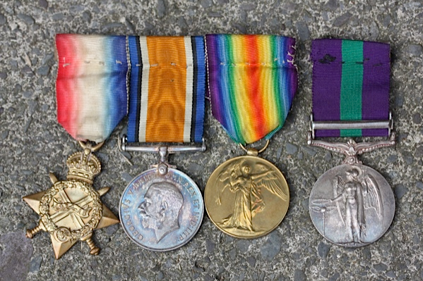 Uncle Willy's Medals