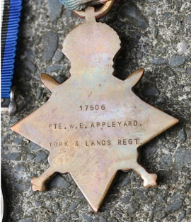 Reverse of the Star Medal
