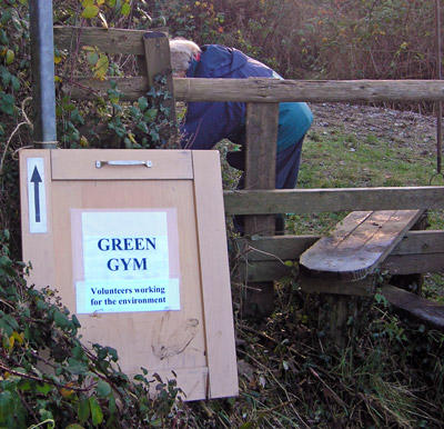 Green Gym this way