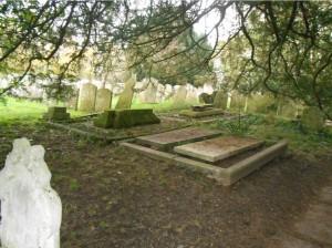 Warblington Flat Gravestones
