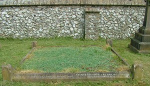 George Standing grave