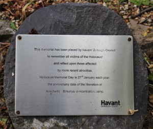 Holocaust Memorial Plaque 310515
