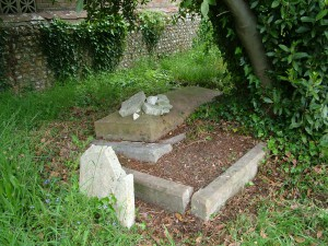 Rev W Scamp grave
