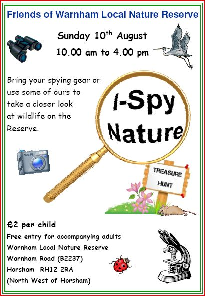 Nature event for children