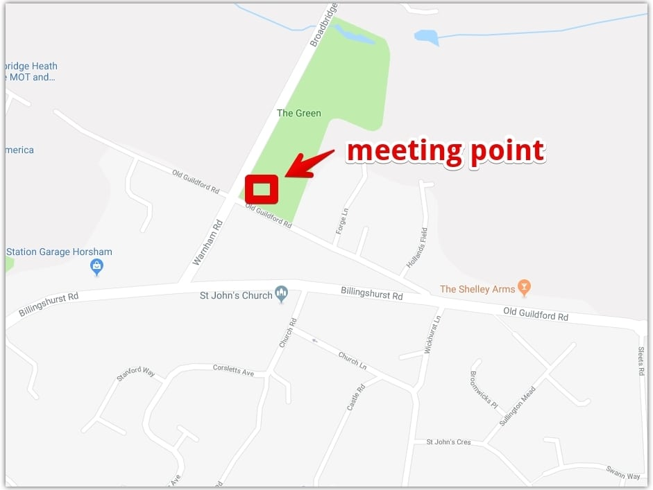 Bulb planting meeting point
