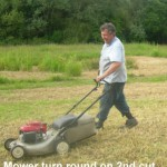 Mower Turn Round 14-06-2014