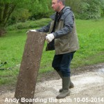Andy Boarding Path 10-05-2014