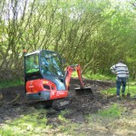 Pond dig out 09-05-2014 #