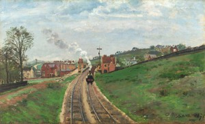 Lordship Lane Station Camille Pissarro