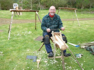 Green woodworking weekend May 15 011