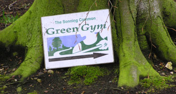 Green Gym sign