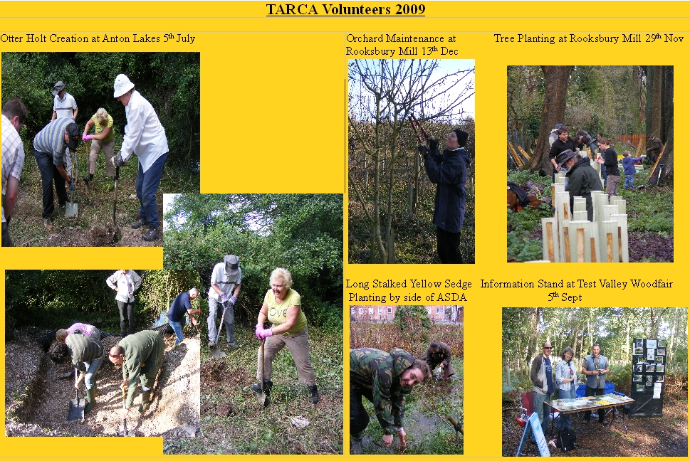 TARCA Photos 2009 webpage