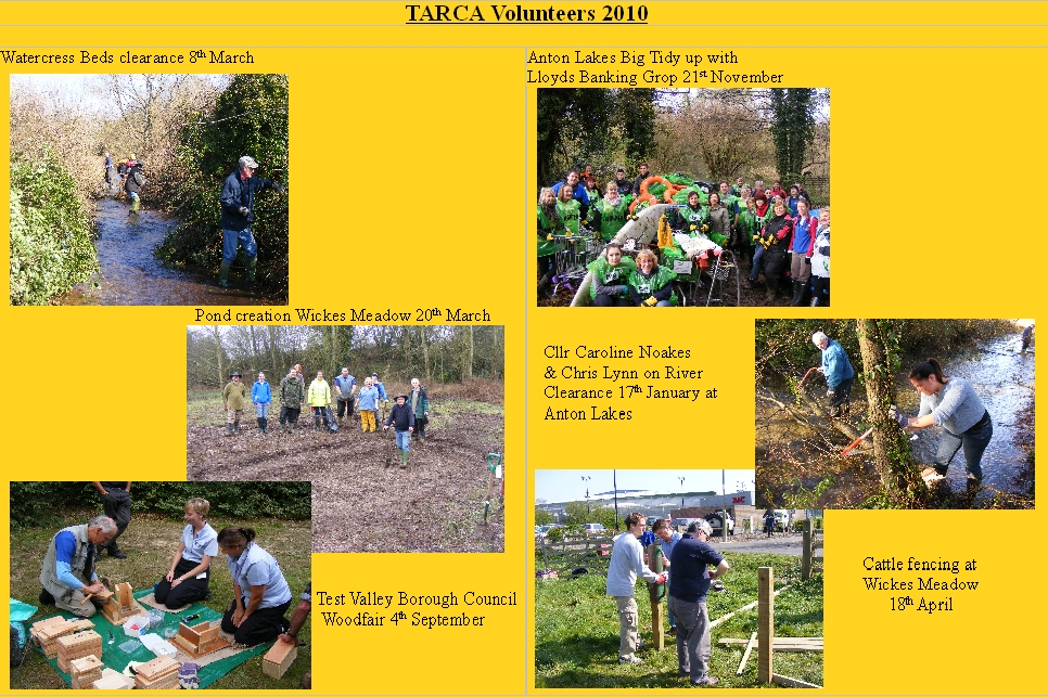 TARCA Photos 2010 webpage