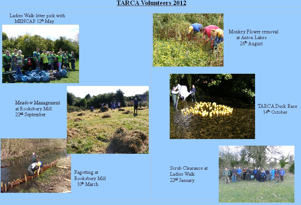 TARCA Photos 2012 webpage
